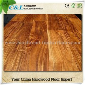China Factory Antique Handscraped Acacia Walnut Parquet Wood Flooring pictures & photos