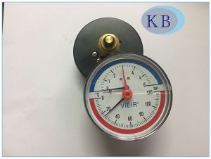 Best Quality Thermometer and Pressure Gauge with Scale pictures & photos