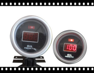 2inch 52mm Red Light Disply Gauge Oil Pressure Gauge (DGT8804)
