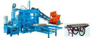 Brick Making Machine in Zambia Zcjk Hyrdaulic Brick Making Machine pictures & photos