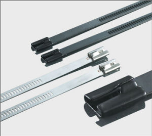 Ball Lock Epoxy Coated Stainless Cable Ties pictures & photos