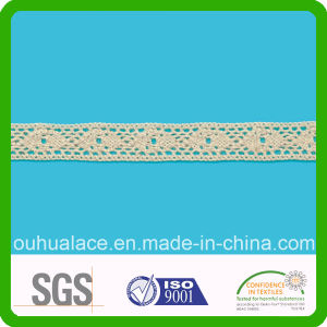 Narrow Skin Color Tender Feeling Cotton Lace