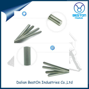 Hot Dipped Galvanized Low Carbon Steel Threaded Rods pictures & photos