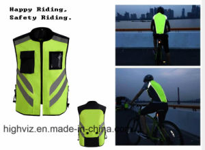Reflective Cycling Vest for Outdoor Sportwear (C2421) pictures & photos