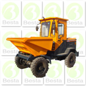 2 Ton 2000kg Hydraulic Site Dumper pictures & photos