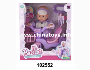 "New Toy 15""Doll with Bike (102552) pictures & photos"