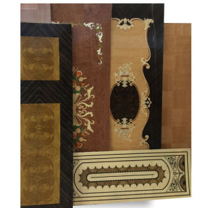 Factory Natural Veneer Jointed Door Size Plywood pictures & photos