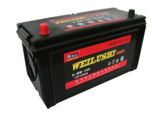 Automobile Battery/ Maintenance Free Car Battery/N105 12V105ah JIS Car Battery pictures & photos