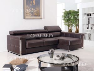 Brown L Shape Sofa pictures & photos