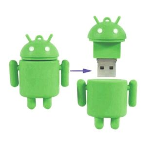 Custom Gift Android Cartoon USB Stick with PVC Material pictures & photos