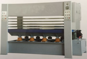 Xinlihui Brand 800 Ton 10 Layer Film Faced Hot Press with Ce pictures & photos
