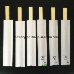 Perfessional China Factory Print Logo Bamboo Chopsticks pictures & photos