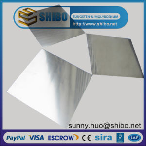 99.95% Cold Rolled Molybdenum (Mo) Sheet/Plate for Single Crystal Grwoth pictures & photos