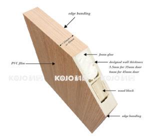 Anti-Termite Moisture-Proof Wood Plastic Composite WPC Interior Door (KMB-18) pictures & photos