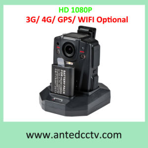 HD 1080P Police Body Worn CCTV Video Camera with 4G 3G GPS WiFi pictures & photos