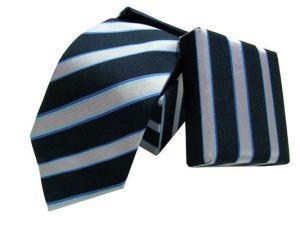 Wovn Silk Necktie Cufflink Hanky with Box Sets
