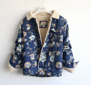 Lady Jeans Cotton Jacket S Coats pictures & photos