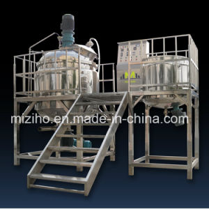 Ointment Low Pressure Liquid Washing Homogenizer Mixer pictures & photos