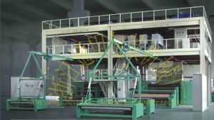 PP Spunbond Nonwoven Fabric Plant pictures & photos