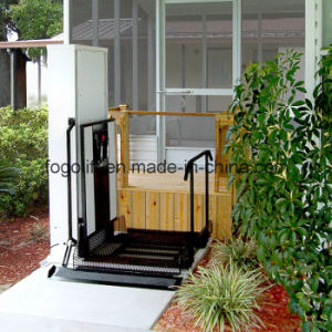 Straight Left Access Wheelchair Lift pictures & photos