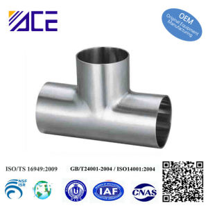 Stainless Steel Welding Tee Pipe Fittings pictures & photos
