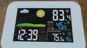 Wireless Colorful Weather Station (AW005) pictures & photos