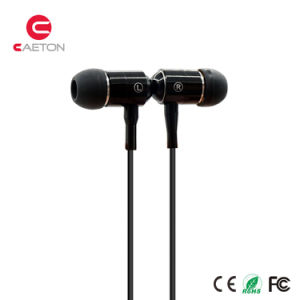 3.5mm Metal Housing Stereo HiFi Bass Earphone with Mic pictures & photos