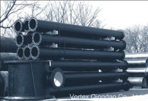 Vortex Ductile Iron Flanged Pipe pictures & photos
