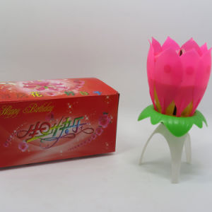 Exporting Music Lotus Fireworks Candle pictures & photos