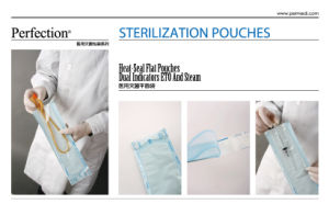 Eo/Steam Medical Heat Seal Sterilization Flat Pouch pictures & photos