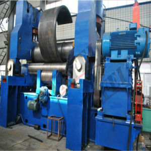Big Size CNC Three Roller Hydraulic Plate Rolling Machine pictures & photos