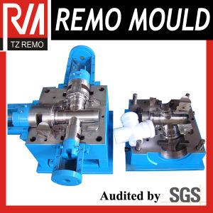 4 Cavity PVC Fitting Injection Mold pictures & photos