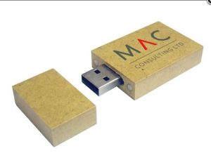 Ecycled Cardboard Recyled Paper USB Flash Drive (OM-P318) pictures & photos