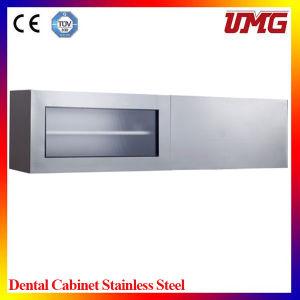 Dental Laboratory Equipment Wall-Mounted Dental Workbench Cabinet pictures & photos