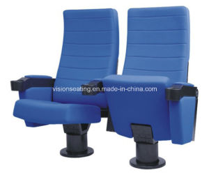 Single Pedestal Cinema Movie Theater Seat (2104) pictures & photos