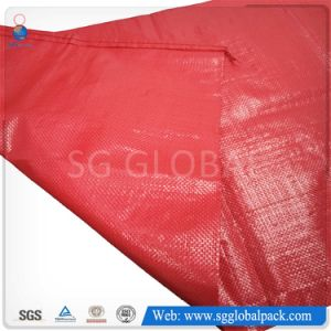 50kg Red PP Woven Bag for packaging Beans pictures & photos