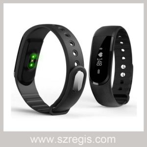 """0.91"""" OLED Screen Sports Full Touch Health Silicone Smart Bracelet pictures & photos"""