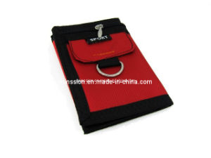 Sport Wallet Purse with Card Holder and Key Ring (MS9045) pictures & photos