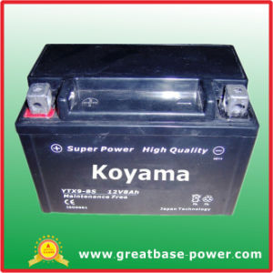 12V 8ah Lead Acid Battery for Motorcycle pictures & photos
