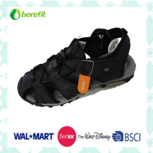Children′s Sandals with Nubuck Upper and TPR Sole pictures & photos