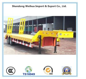 China Supplier 10 Axles Low Bed Truck Trailer with Good Price pictures & photos