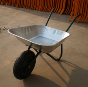Middle East Widely Used Construction Wheel Barrows (WB6402) pictures & photos