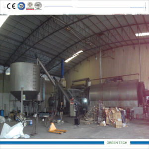 Zero Pollution Pyrolysis Plant with Sealing Type Carbon Slag Device pictures & photos