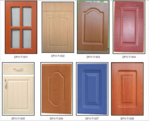 18mm High Gloss PVC Cabinet Door pictures & photos