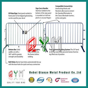 Qym-Durable Crowd Control Barriers / Pedestrian Barrier pictures & photos