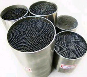 High Quality Metal Honeycomb Catalytic Converter pictures & photos