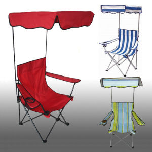 Beach Chair with Sunshade Canopy pictures & photos