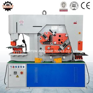I-Beam Holes Punching Machine on The Web and Flange