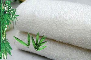 Natural Bamboo Fabric Anti Grease Dishcloths Cleaning Kitchen Products Factory pictures & photos