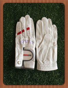Custom Logo Flexible Lycra Men Golf Glove with Ball Marker